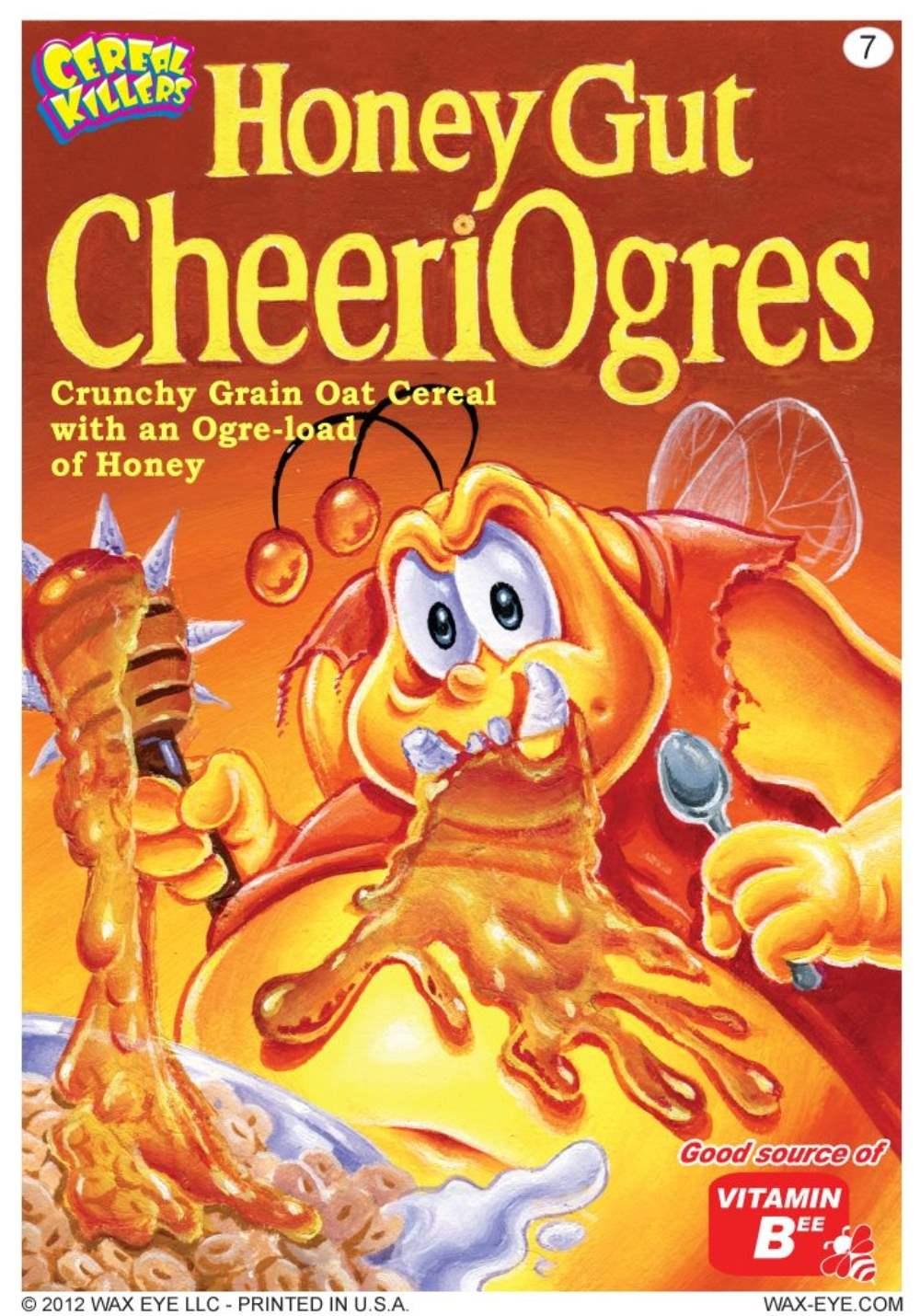 Cereal Killers Honey Gut Cheeriogres