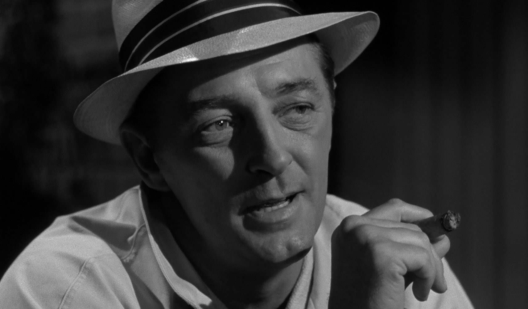 Robert Mitchum as the terrifying villain Max Cady in 1962's Cape Fear.
