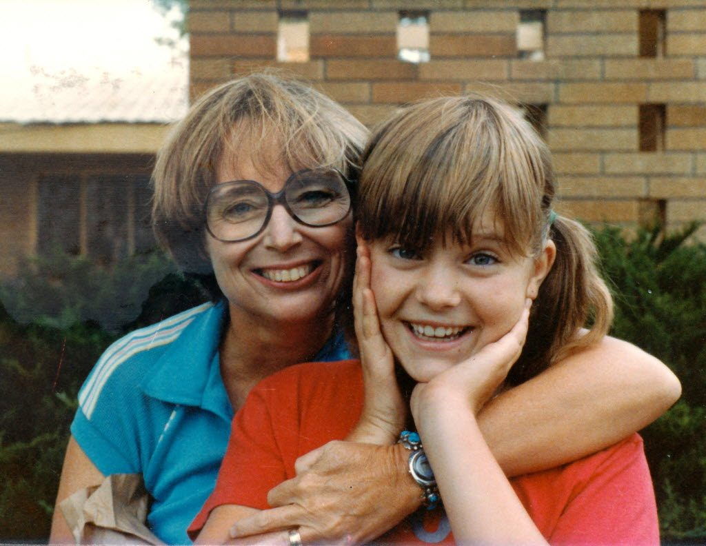 Lois Duncan and Daughter