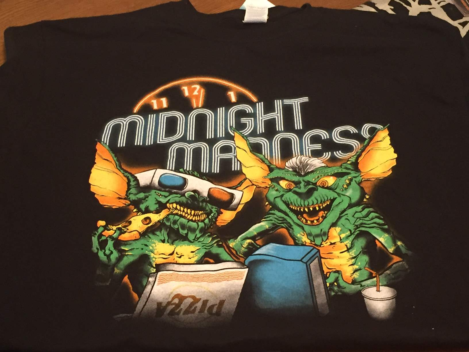 Gremlins t-shirt from ShirtPunch in the May 2016 Horror Block