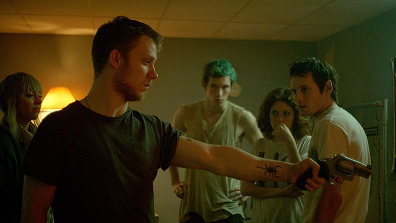 Green Room Movie - starring Anton Yelchin and Patrick Stewart