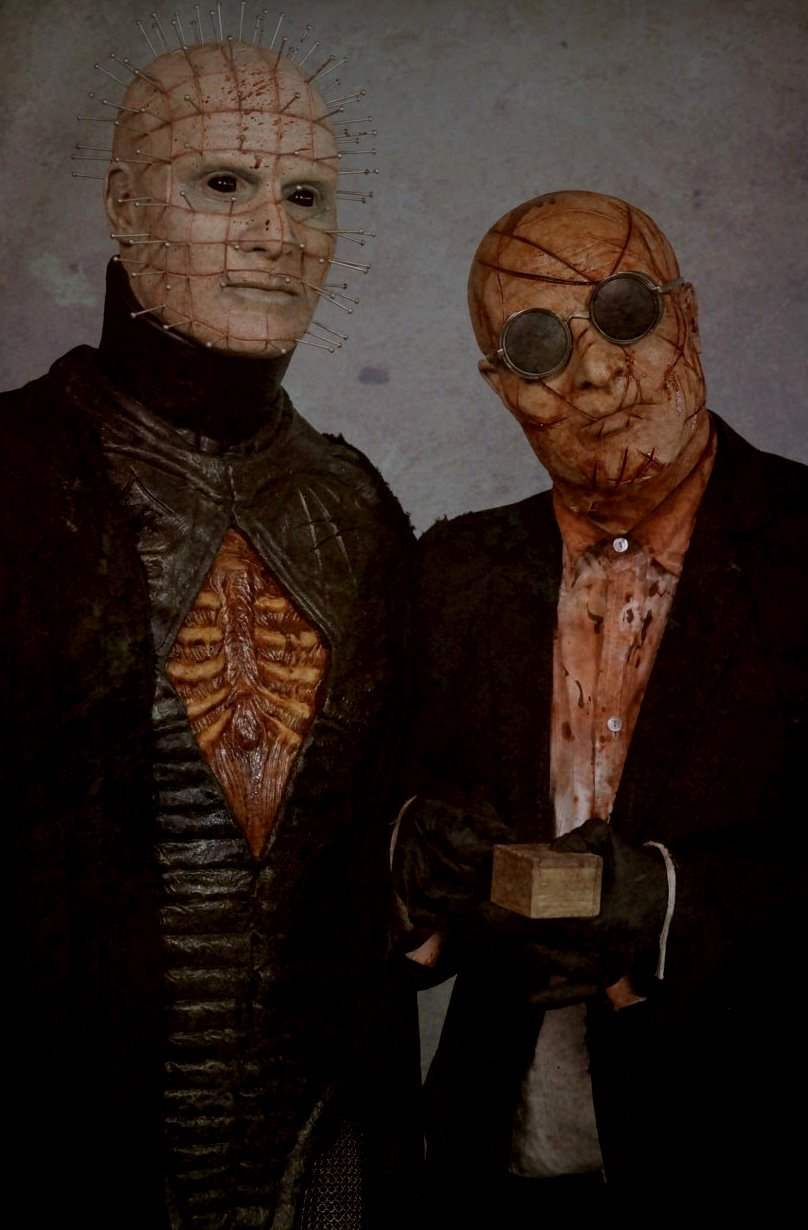 Pinhead and the Auditor in Gary Tunnicliffe's Hellraiser: Judgment