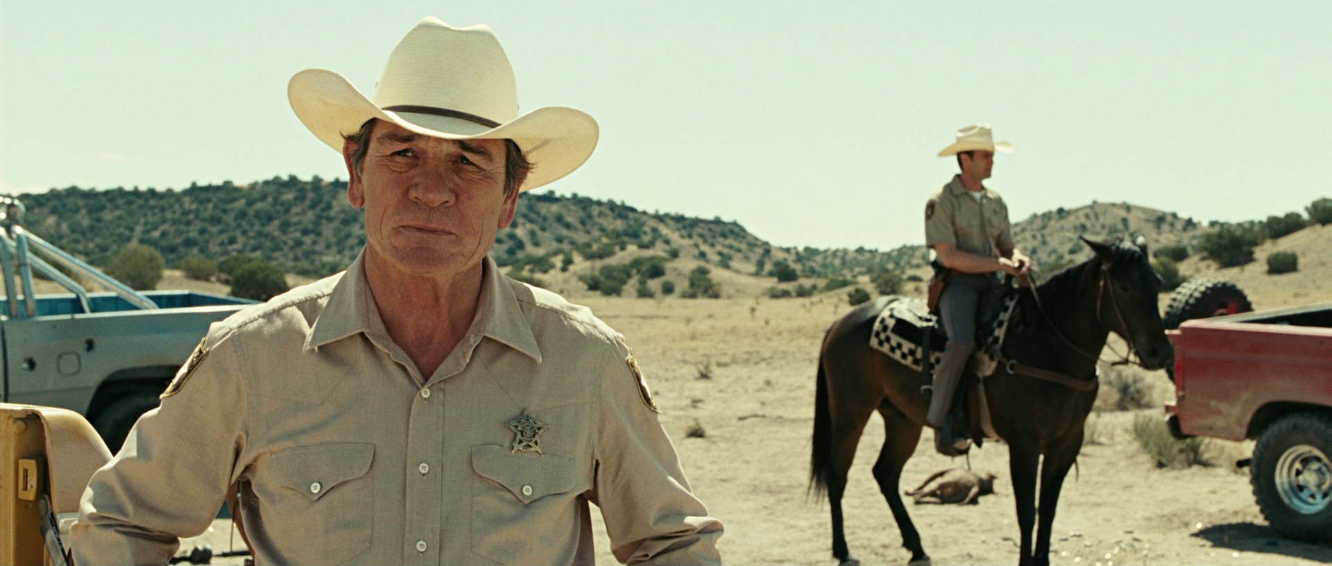 Tommy Lee Jones in No Country For Old Men
