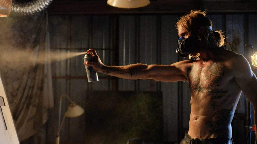 Ethan Embry in The Devil's Candy spray