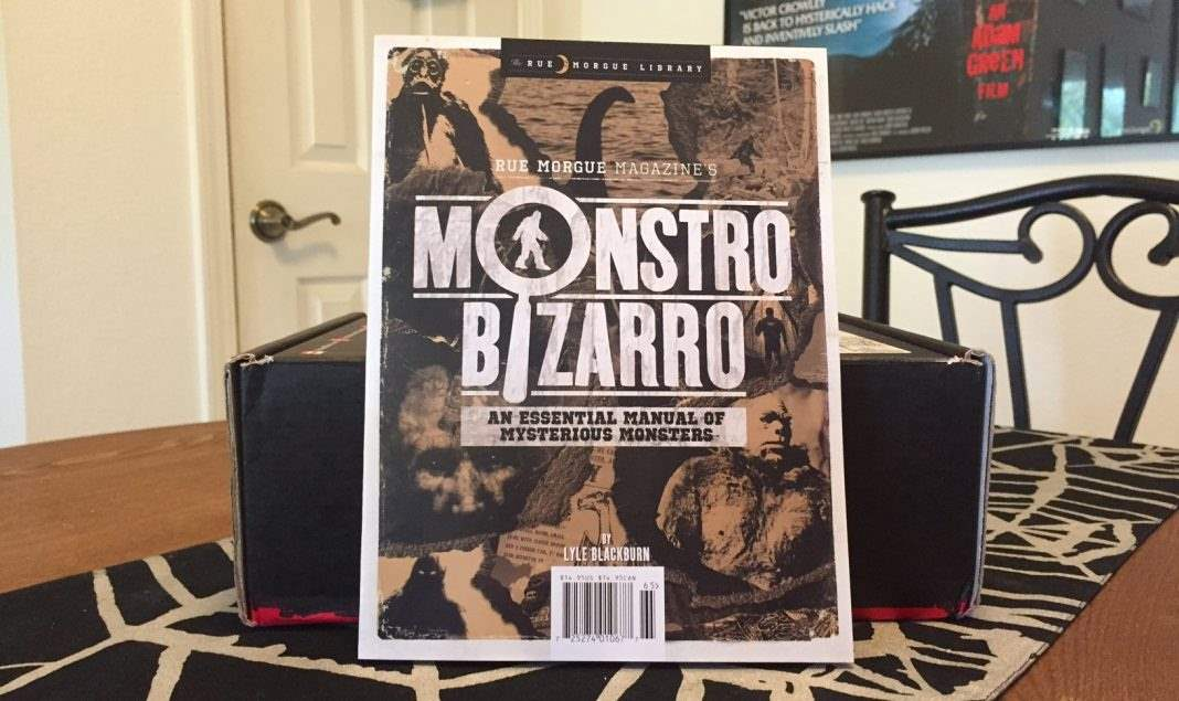 Rue Morgue Magazine's issue of Monstro Bizarro in the September 2016 Horror Block