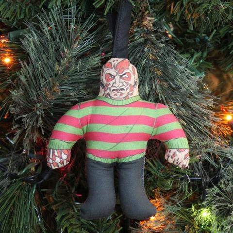 Freddy Krueger tree ornament