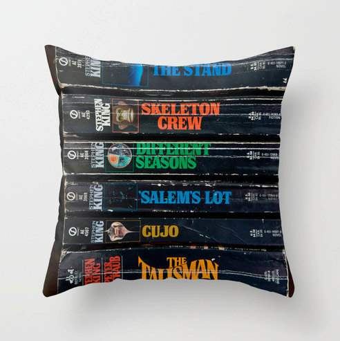 stephen king pillow
