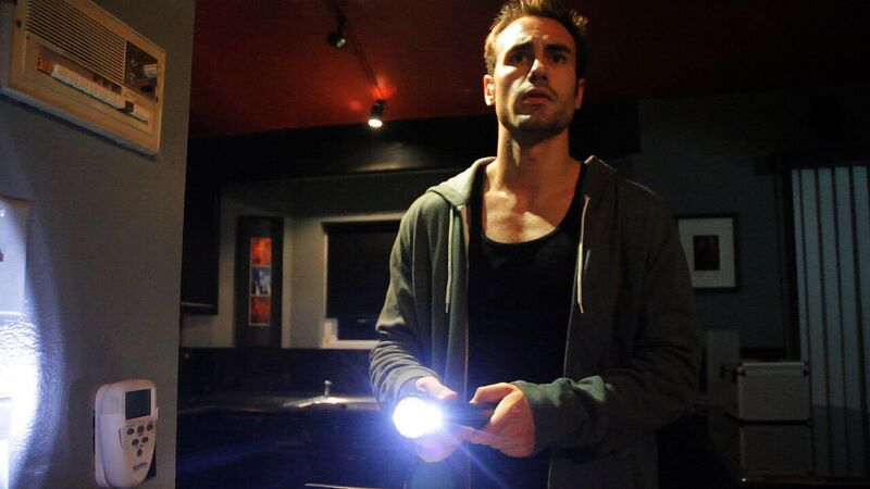 Andre (Ivan Djurovic) thinks something sinister is going on in the house in It Watches