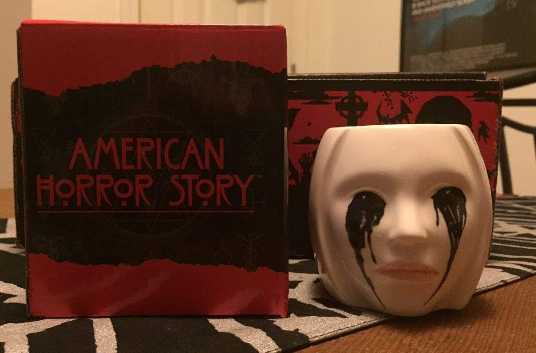 American Horror Story pencil holder - Horror Block December 2016