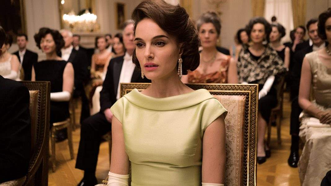 Natalie Portman in Jackie ball gown
