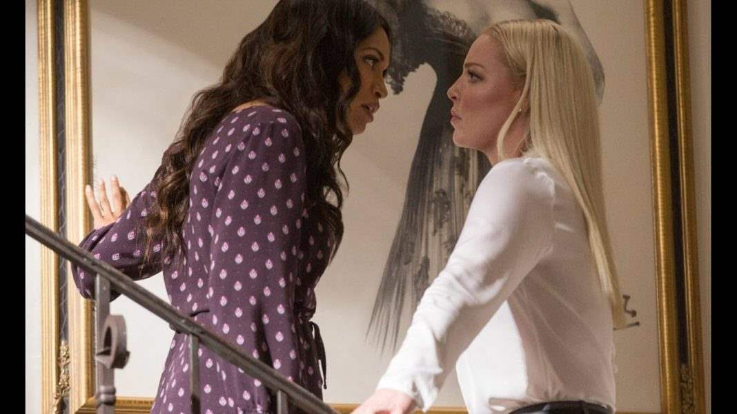Rosario Dawson and Katherine Heigl in Unforgettable