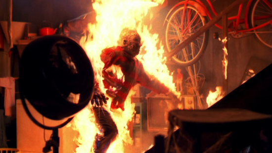 burning scene in A Nightmare on Elm Street