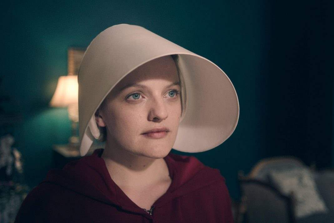 "THE HANDMAID'S TALE ""Offred"" Season 1, Episode 1 April 26, 2017 Offred (Elisabeth Moss)"