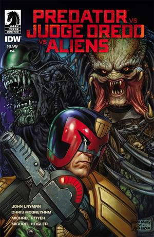 Predator vs. Judge Dredd vs. Aliens Issue #4