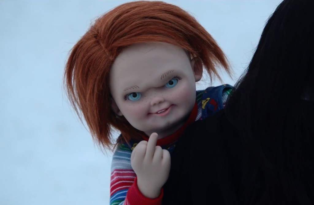 Cult Of Chucky finger