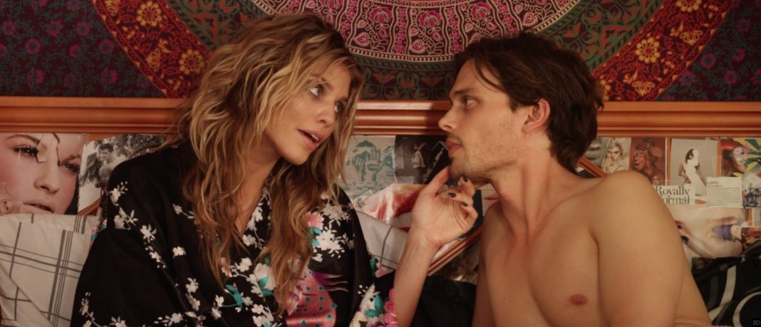 Annalynne Mc Cord and Matthew Gray Gubler in 68 Kill
