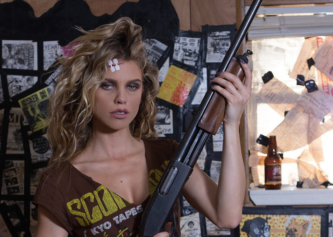 Annalynne Mc Cord in 68 Kill shotgun