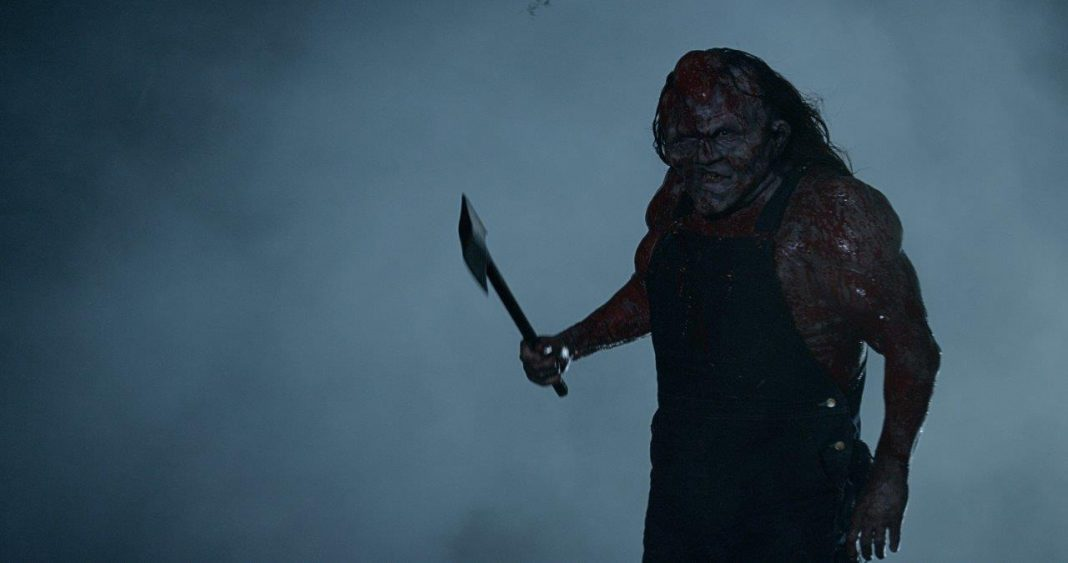 Victor Crowley hatchet