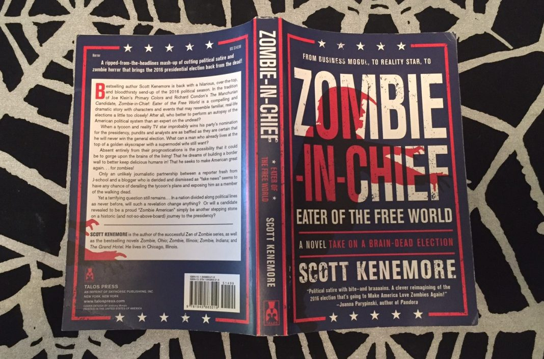 front and back covers of Zombie-In-Chief by Scott Kenemore