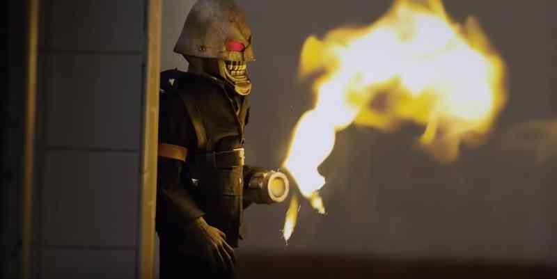 Puppet Master Littlest Reich Torch fire