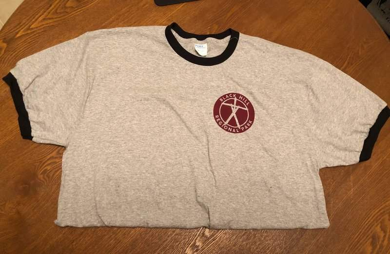 Blair Witch Project shirt in the April 2019 Creepy Crate