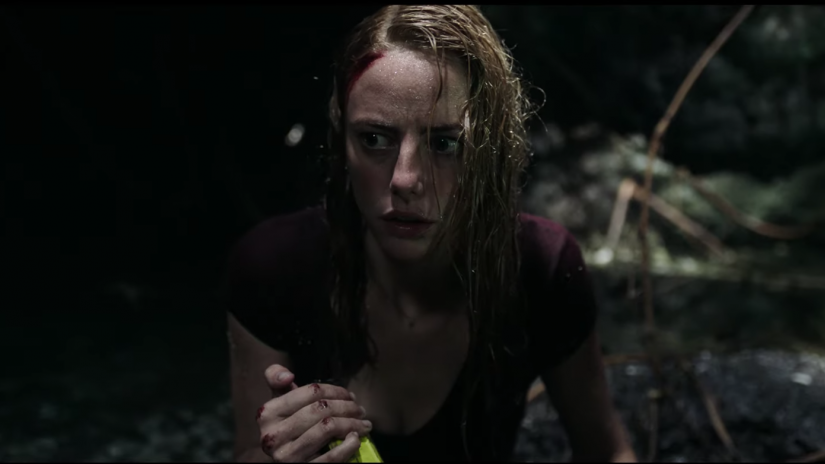 Kaya Scodelario in horror movie Crawl