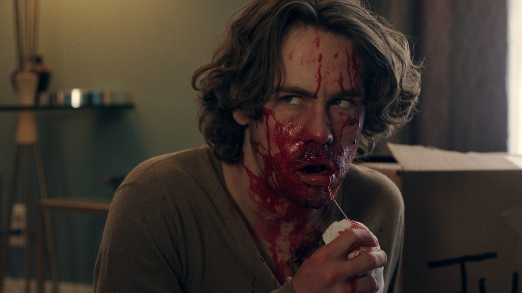 Munro Chambers in horror movie Harpoon