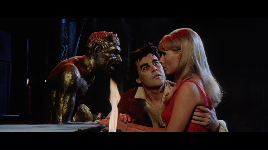 John Lodge and Thordis Brandt in The Witchmaker