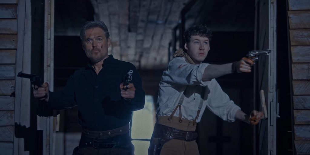 Bill Sage and Devin Druid in The Pale Door