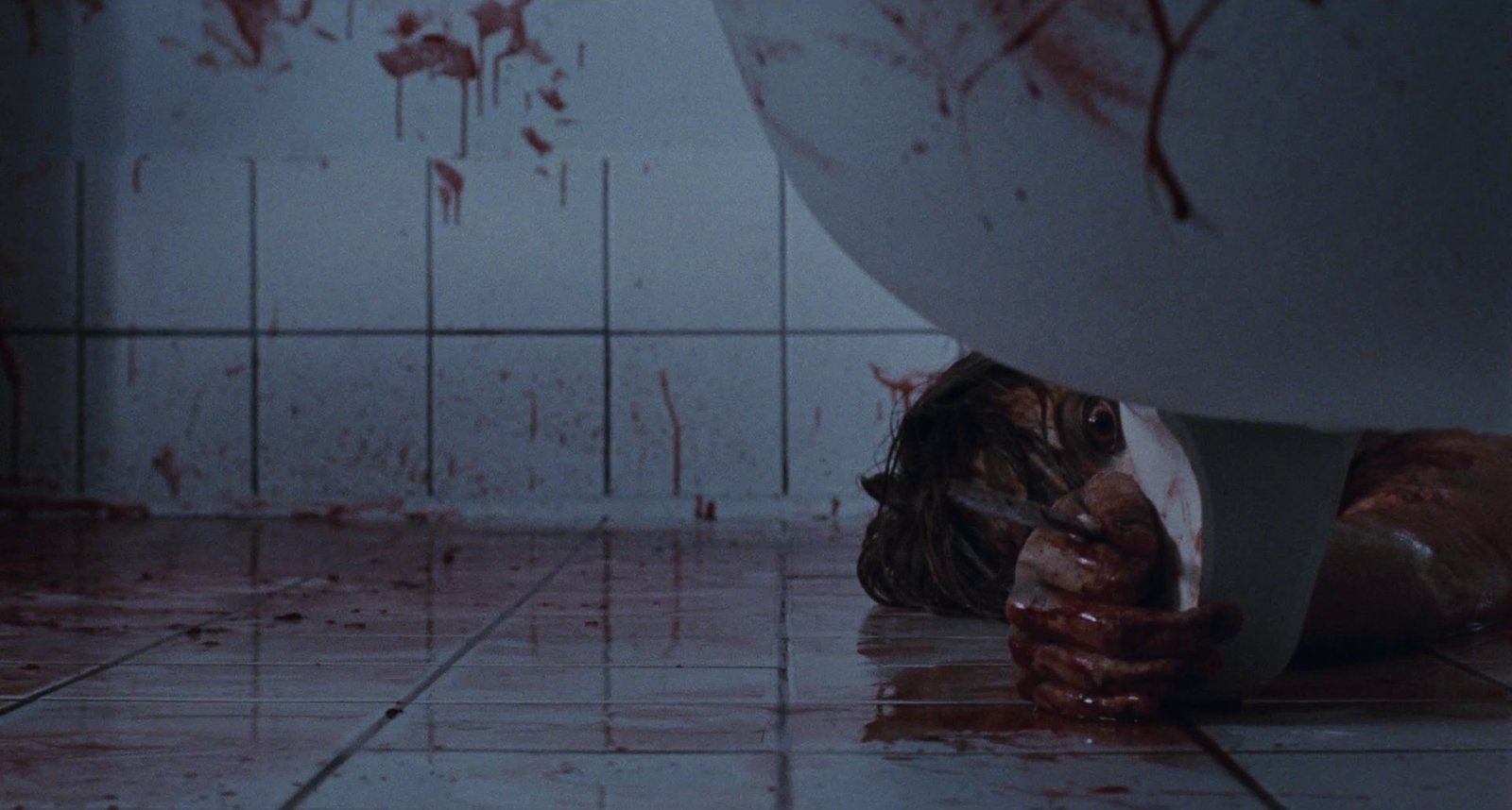 The bathtub in the Pascal Laugier horror film Martyrs.