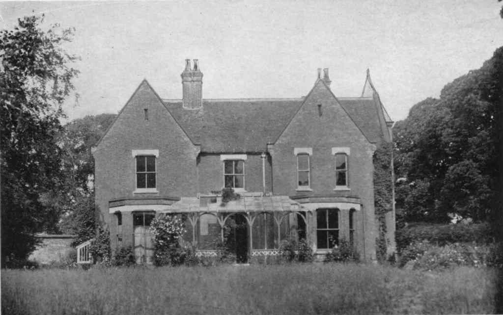 The Borley Rectory in Essex, United Kingdom.