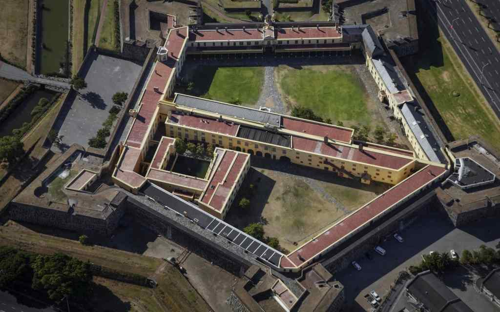 The castle of Good Hope, in Cape Town, South Africa.
