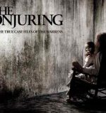 The movie poster for Th Conjuring starring Patrick Wilson and Vera Farmiga and directed by James Wan.