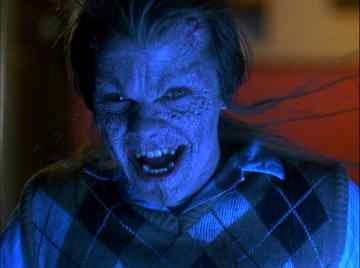 Hoax after turning evil in the Robert Englund directed horror film 976-Evil.