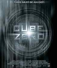 Poster for Ernie Barbarash's Cube Zero.