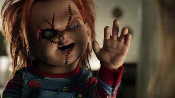 The Chucky Doll in the 2013 Don Mancini directed Curse of Chucky.