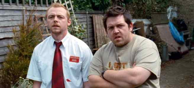 Simon Pegg in Shaun of the Dead is among unlikely horror heroes that saved the day