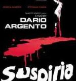 Top Ten Giallo Films. Poster for Dario Argento's Suspiria.