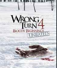 Poster for Declan Obrien's Wrong Turn 4.