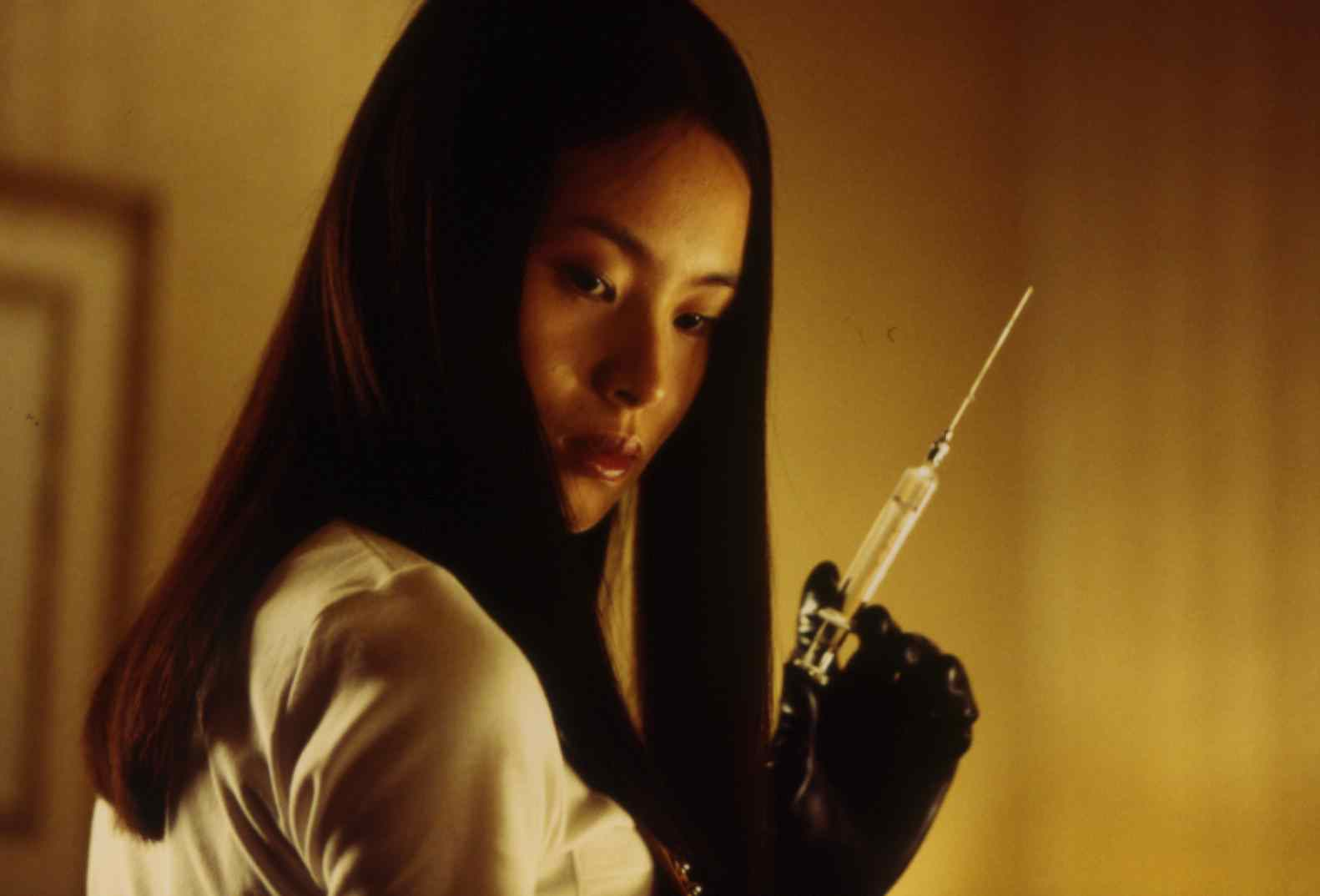 eihi shiina who plays Asami in the famous japanese thriller audition.