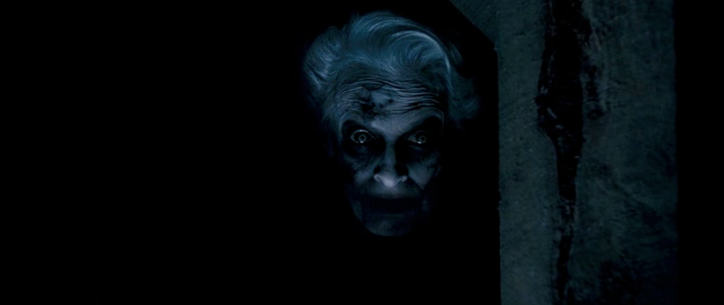 The old woman who takes tongues in the movie Dead Silence.
