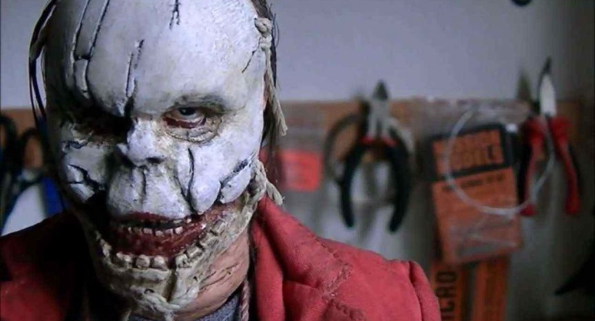 The Babyface killer from Dave Parker's 2009 meta slasher The Hills Run Red.