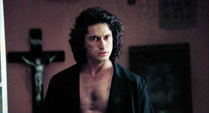 Dracula (Gerard Butler) is awake and ready to raise hell in Patrick Lussier's 2000 vampire film Dracula 2000.