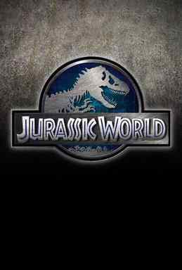 The promo poster for the Colin Trevorrow film Jurassic World.