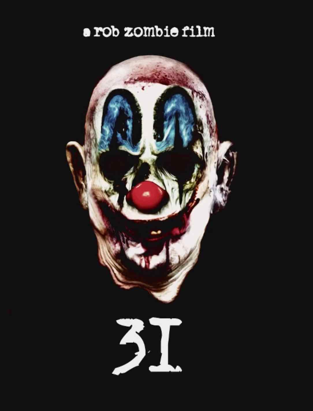 Psyhco-Head Poster art for the Rob Zombie film 31.