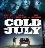 Poster for Jim Mickle's Cold in July.