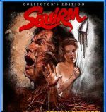 Blu-ray box art for Jeff Lieberman's Squirm.