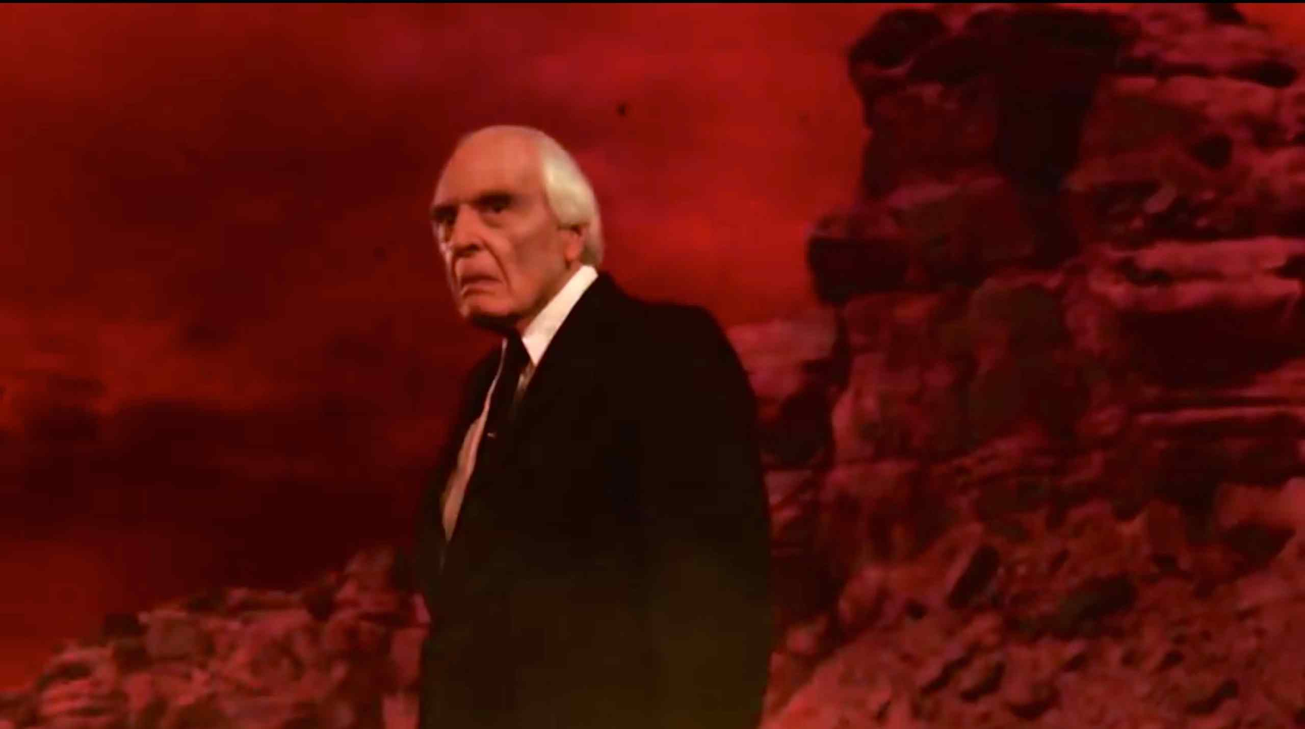 The Tall Man (Angus Scrimm) is up to his old tricks in David Hartman's Phantasm: Ravager.
