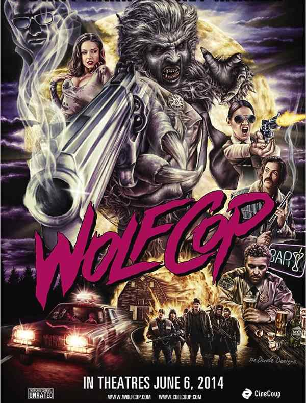Poster for the Lowell Dean film WolfCop.