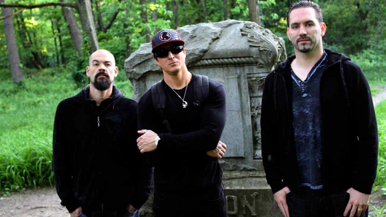 Aaron Goodwin, Zak Bagans and Nick Groff who are in the popular Ghost Adventures trio.
